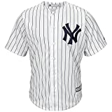 Majestic New York Yankees Maillot de baseball Cool Base MLB domicile Blanc Blanc L