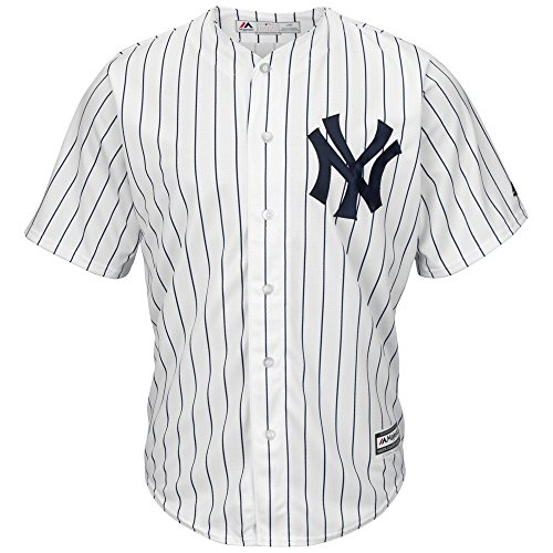 Majestic New York Yankees Cool Base MLB Trikot Home M (Original Trikot Baseball)