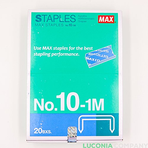 20-cajas-20000-staples-authentic-max-grapas-n-10-1-m-para-oficina-grapadora