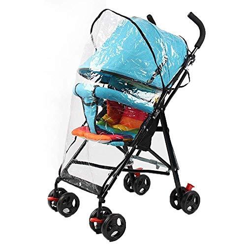 Smmli-Toy Kinderwagen, Ultraleichter tragbarer Kinderwagen mit Regenschutz, Klappbarer Regenschirm, Sommerwagen (Farbe: Blau)