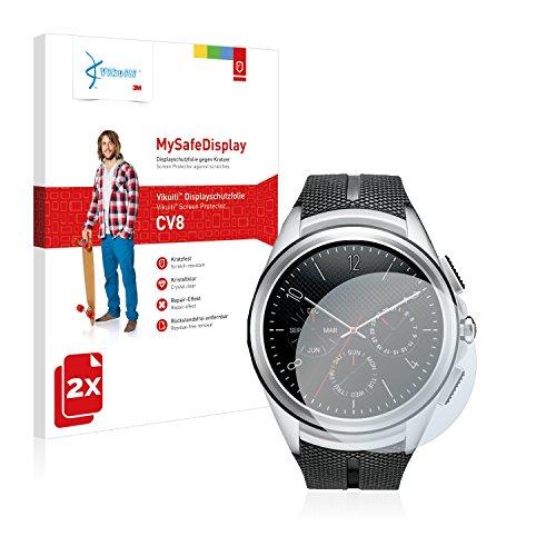 Vikuiti 2X Bildschirmschutzfolie CV8 von 3M kompatibel mit LG Watch Urbane 2nd Edition Schutzfolie Folie