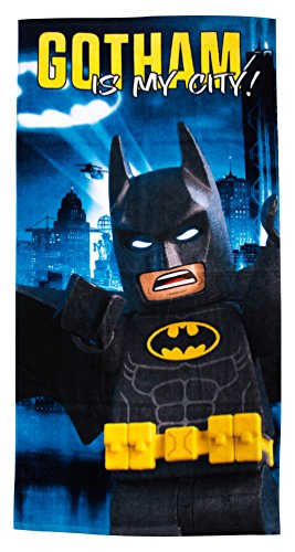 LEGO Batman Movie Hero Handtuch (Lego Batman Bettwäsche)