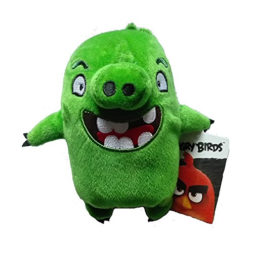 Image of Rovio Angry Birds - Angry Birds The Movie Characters - Pig Plush Toy 7 Inch