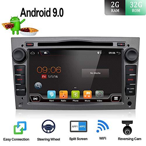 Android 6.0Quad Core 17,8cm GPS Auto-DVD-Player für Opel Astra Vectra Zafira Antara Corsa Radio Navigation Stereo Audio- und Video Farbe Grau kostenloser Kamera-& CANBUS