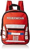 Fabrizio Feuerwehrrucksack Kinder-Rucksack, Rot