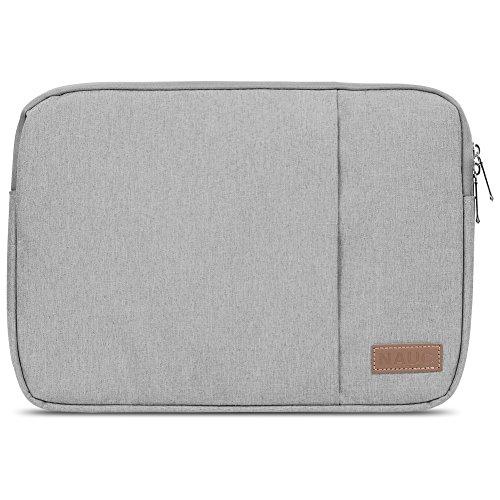 Acer TravelMate B118 Hülle Tasche Notebook Schutzhülle Schwarz / Grau Cover Case, Farbe:Grau