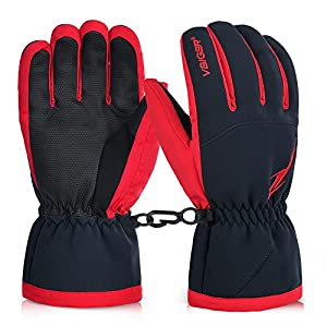 VBIGER Winterhandschuhe Skihandschuhe Fahrradhandschuhe Motorrad Handschuhe Outdoor Handschuhe Winter Handschuhe Skifahren Handschuhe Sport Handschuhe Snowboard Handschuhe