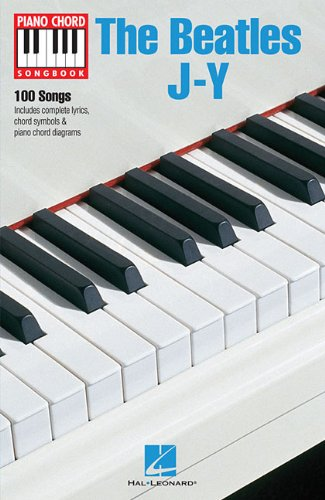 The Beatles J-Y (Piano Chord Songbook)