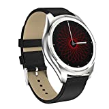 LJSHU Smart Armband Magnetic Charging Herzfrequenz-Überwachung Sleep Sedentary Reminder Multi-Function Sports Watch,Black