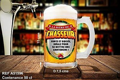 Chope la bière du chasseur