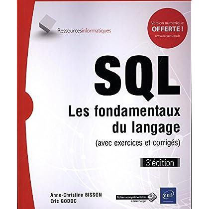 SQL - Les fondamentaux du langage (3e édition)