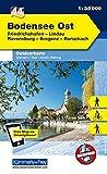 Deutschland Outdoorkarte 44 Bodensee Ost 1:35.000: Friedrichshafen, Lindau, Ravensburg, Bregenz, Rorschach. Wanderwege, Radwanderwege, Nordic Walking (Kümmerly+Frey Outdoorkarten Deutschland) -