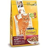Purina Friskies Pienso para Gato Adulto Buey, Pollo y Verduras 4 Kg