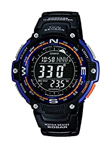 Casio Collection – Reloj Hombre Digital con Correa de Resina – SGW-100