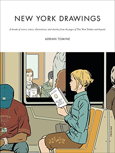 New York Drawings por Adrian Tomine