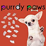 Purrdy Paws 100-Pack Soft Nail Caps For Dog Claws CLEAR * XXL Brand 5