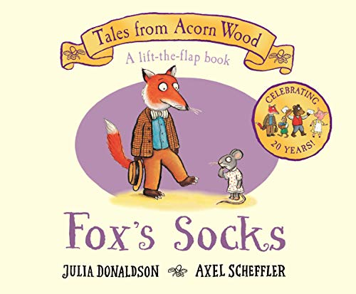 Fox's Socks: 20th Anniversary Edition (Tales From Acorn Wood)