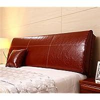 Europea moderna minimalista Comodino morbido Pacchetto Comodino Cuscino letto in pelle dello schienale dal cuscino staccabile Pacchetto per 1,2 milioni da letto o 1,5 m Letto ( colore : # 9 , dimensioni : 120*55*12cm )