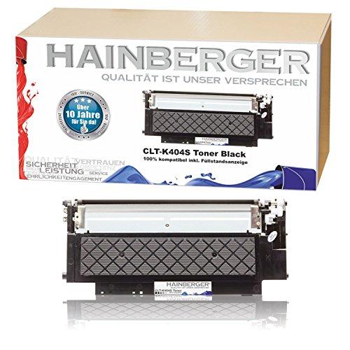 Preisvergleich Produktbild Hainberger XL Toner Black kompatibel zu Samsung CLT-404S Xpress C 430 W C 480 W C 480 FN C 480 FW CLT-K404S, CLT-C404S, CLT-M404S, CLT-Y404S