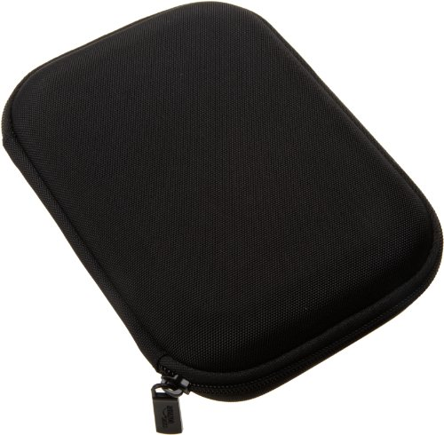AmazonBasics Hartschalenetui für 5-Zoll-Navigationsgeräte, schwarz