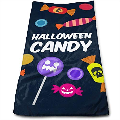 oths Face Towel-Trick Or Treat Halloween Extra Absorbent Towel for Bathroom/Kitchen/Spa 12