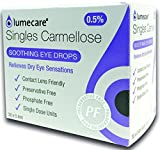 Best Dry Eye Drops - Lumecare singles carmellose Soothing Eye Drops - Preservative Review