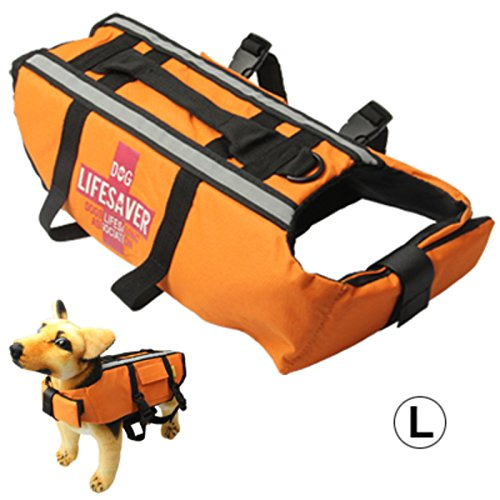 dog-life-vest-jacket-for-swimming-boating-surfing-high-visibility-orange-canine-pet-flotation-device