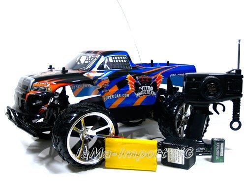 10 Rc-monster-trucks 1 (RC Auto Hammer Jeep Monster Truck Offroader 1:10 ferngesteuert - komplett Set)