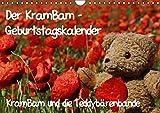 Der KramBam-Geburtstagskalender (Wandkalender immerwährend DIN A4 quer): Immerwährender Terminkalender mit Teddy KramBam (Monatskalender, 14 Seiten) (CALVENDO Spass)