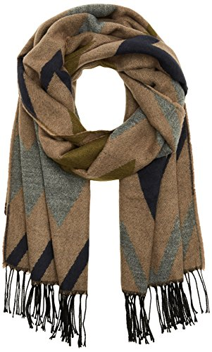 PIECES Damen Schal Pcjasy Long Scarf, Braun (Ginger Snap), One Size