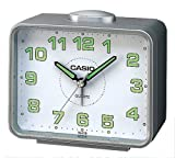 Casio - TQ-218-8EF - Analog quartz alarm clock with alarm repetition