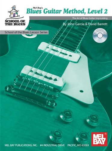 Blues Guitar Method, Level 2. Partitions, CD pour Guitare