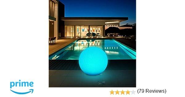 Kealive lampada solare luci giardino esterno 8 colori regolabili