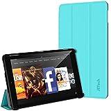 "Fire HD 10 Hülle, JETech Schutzhülle Tasche Case Cover mit Standfunktion für Amazon Fire HD 10 Tablet (10.1"" HD Anzeigen 5th Generation - 2015 Modell) (Blau)"