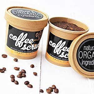 Coffee Body Scrub – Körperpeeling mit Kaffee | fair trade, Blutorangen Öl, Sheabutter, Kokosnussöl