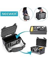 Neewer 29x18x16cm Stockage Résistant Imperméable pour Gopro, Xiaomi Yi Caméras d'Action et Accessoires Essentiels