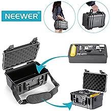 Neewer 10086201 - Funda de transporte resistente al agua de almacenamiento para Gopro Hero4 Session, Hero4, 3+, 3, 2 ,1, SJ4000 SJ5000 SJ6000 SJ7000, Deportes Cámaras Videocámara y accesorios esenciales