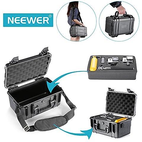 Neewer 29x18x16 Centimètres Coffret Imperméable pour GoPro Hero4 Session 4 3+ 3 2 1, SJ4000 SJ5000 SJ6000 SJ7000, Autres Caméra d'Action et Accessories Essentiels