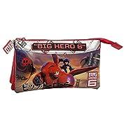 Fantastico borsellino necessaire di Big Hero 6, con una bellissima immagine dei personaggi del film d'animazione per un gadget che è il massimo della praticità: ampio vano centrale con chiusura a cerniera, 3 tasche, materiali robusti e resist...