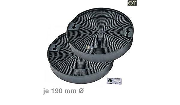 Kohlefilter Ø mm stück ot aeg electrolux juno