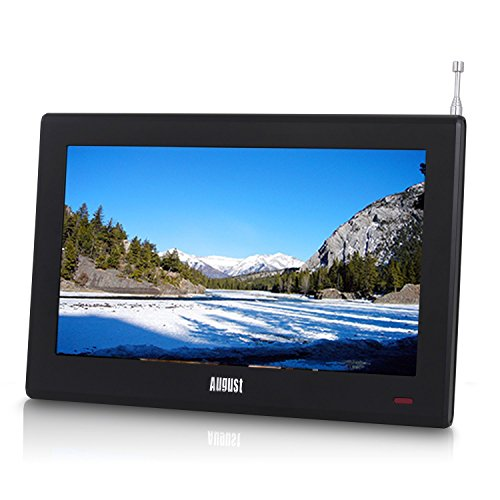 "51BbOaSstLL. SS500  - August DA100D - 10.1"" Portable HD TV with Inbuilt Recorder & Multimedia Player / DVB-T2 MPEG4 H.264 / H.265 - LCD TV Digital & Analog"