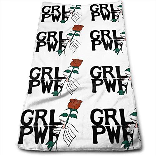 Toalla feminista GRL PWR
