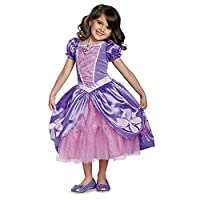 ‏‪Disney Junior Sofia the First Next Chapter Deluxe Girls' Costume‬‏