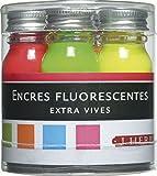 Herbin Beaux-Arts - Herbin sets 5 Flacons d'Encre fluorescente