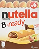 Nutella B-Ready Biscuits, 6 pieces (Pack of 16)