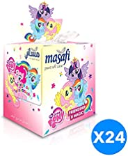 Masafi Little Pony Facial Tissue - Pack of 24 Boxes (24 x 100 Sheets x 2Ply)