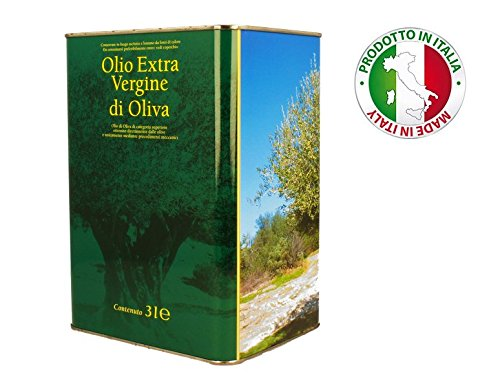 Natives Olivenöl Extra 3 Liter italienischer - 2017 collection - Kaltextrahiert