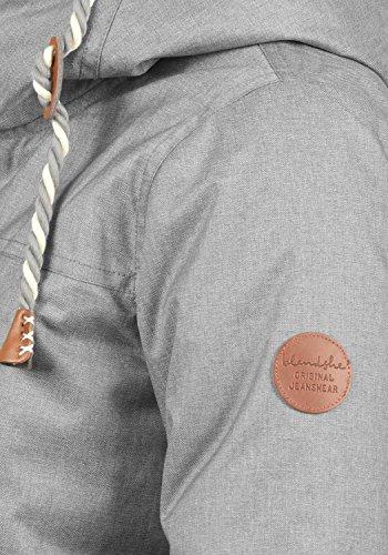 Blend SHE Dale Damen Winter Jacke Parka Mantel Winterjacke gefüttert mit Teddyfutter und Kapuze, Größe:S, Farbe:Castlerock (75003) - 4