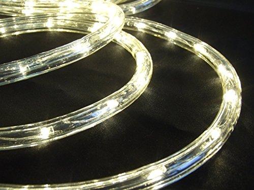 LED Lichtschlauch warmweiß 25 m für Garten innen/außen von Gartenpirat®