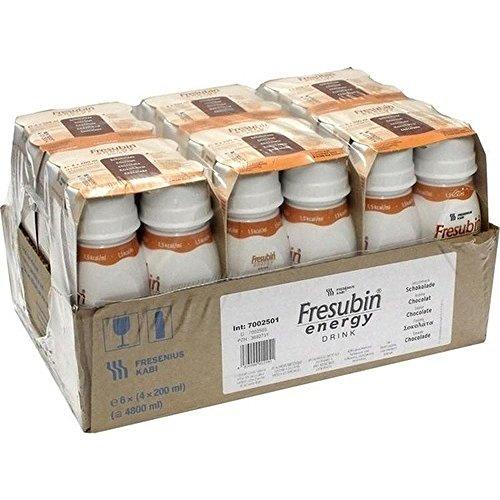 fresubin apotheke Fresenius Kabi Fresubin Energy Drink Schokolade Trinkflasche, 6 x 4 x 200 ml, 1er Pack (1 x 5,5 kg)